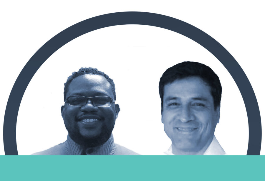 Welcome to Hopeworks new staff members: Donshae and Esteban!